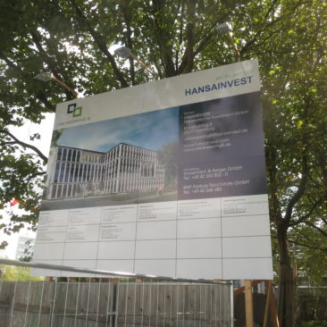 Neubau Bürogebäude Überseering Hamburg