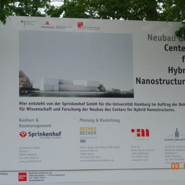 Neubau Center for Hybrid Nanostructures-Hamburg