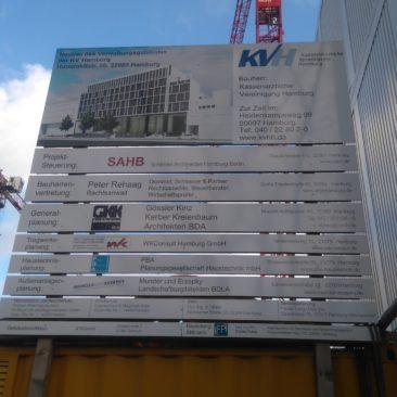Neubau Verwaltungsgebäude KV Hamburg